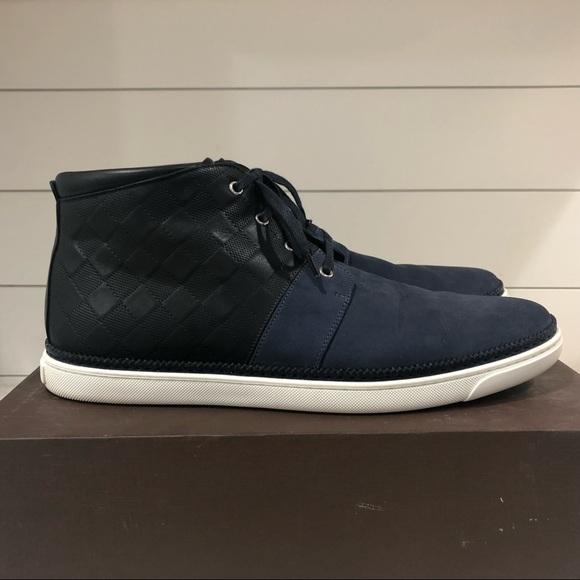 3c796f3d790 Louis Vuitton *AUTH* Men's Hightop Damien Sneakers